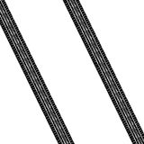 Monte pneus o traço ilustração royalty free