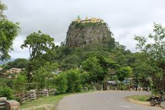 MONTE POPA Royalty Free Stock Photography