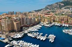 Monte - porta de Carlo imagens de stock royalty free
