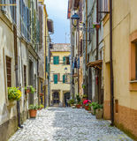Monte Porzio Village Stock Images