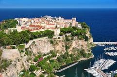 Monte - rocha de Carlo fotografia de stock royalty free
