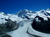 Monte Rosa Royalty Free Stock Images