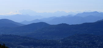monte rosa Стоковые Изображения RF