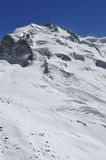 The Monte Rosa Royalty Free Stock Photo