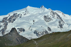 The Monte Rosa Royalty Free Stock Photos