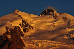 Monte Rosa royalty free stock image