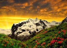 Monte Rosa Immagini Stock Libere da Diritti