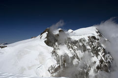 monte Rosa στοκ φωτογραφίες με δικαίωμα ελεύθερης χρήσης