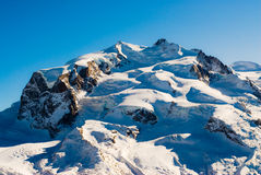 Monte Rosa Fotografia de Stock