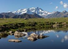 Monte Rosa-de herfst landascape Royalty-vrije Stock Foto