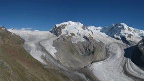 Monte Rosa and Dufour Peak Stock Image