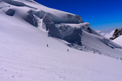 Monte Rosa freeride Royalty Free Stock Photography