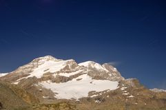 Monte Rosa mountain Royalty Free Stock Photography