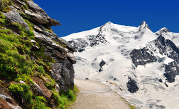 Monte Rosa - Swiss Alps. Beautiful mountain Monte Rosa - Swiss Alps Stock Images