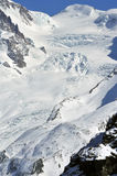 Monte Rosa y Liskamm Fotografía de archivo libre de regalías