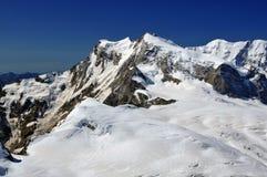 Monte Rosa y Liskamm Imágenes de archivo libres de regalías
