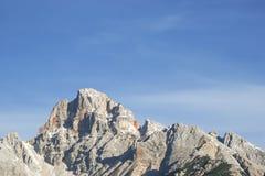 Monte Rosso en dolomites photos libres de droits