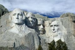 Monte Rushmore Monumet nacional, o Black Hills, South Dakota. Imagem de Stock Royalty Free