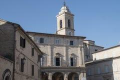 Monte San Giusto Macerata, Marches, Italy Stock Image