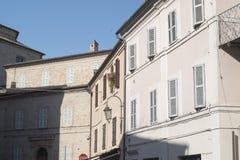 Monte San Giusto Macerata, Marches, Italy Stock Photos