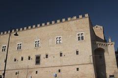 Monte San Giusto Marches, Italy Royalty Free Stock Photography