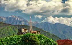 Monte San Salvatore Foto de archivo