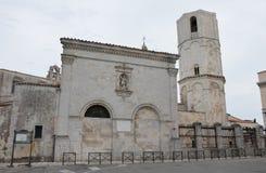 Monte Sant'Angelo圣所  库存照片
