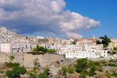Monte Sant Angelo σε Apulia Στοκ εικόνα με δικαίωμα ελεύθερης χρήσης