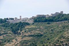 Monte Sant'Angelo στην Πούλια Στοκ Φωτογραφίες