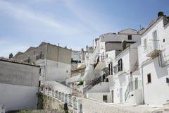 Monte Sant'Angelo royalty-vrije stock fotografie