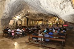 Monte Sant Angelo Στοκ φωτογραφία με δικαίωμα ελεύθερης χρήσης