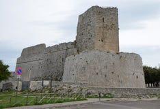 Monte Sant ' Angelo Castle Royaltyfria Foton
