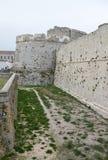 Monte Sant ' Angelo Castle Royaltyfri Fotografi