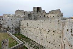 Monte Sant ' Angelo Castle Imagens de Stock