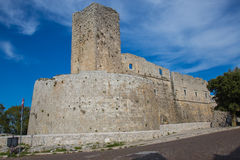 Monte Sant ` Angelo Castle Στοκ εικόνα με δικαίωμα ελεύθερης χρήσης