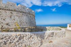 Monte Sant ` Angelo Castle Στοκ Εικόνες