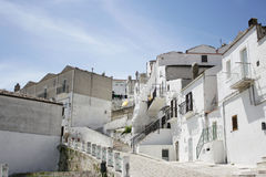 Monte Sant'Angelo Royalty Free Stock Photography