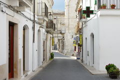 Monte Sant Angelo Royalty Free Stock Images