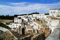 Monte sant'Angelo Royalty Free Stock Images