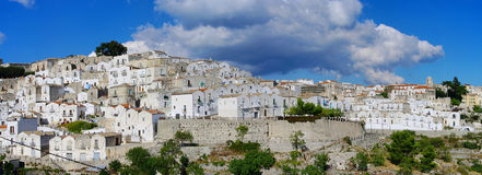 Monte Sant Angelo Stock Photo