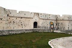 Monte santangelo castle Stock Image