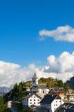 Monte Santo di Lussari - Tarvisio Italia Fotografia Stock