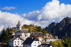 Monte Santo di Lussari - Tarvisio Italy Royalty Free Stock Photography