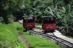 Monte Serrat Framer em Santos Imagens de Stock