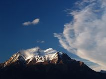 Monte Serva Imagem de Stock