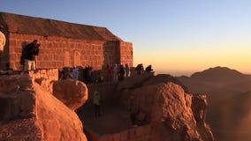 Monte Sinaí. Egipto almacen de metraje de vídeo