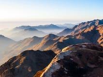 Monte Sinaí Egipto Fotografía de archivo libre de regalías
