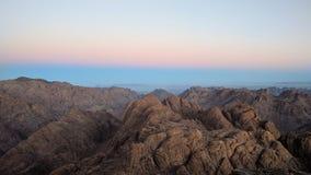 Monte Sinai fotografia de stock