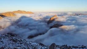 Monte Sinai, alba Fotografie Stock