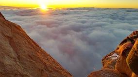 Monte Sinai, alba Fotografie Stock Libere da Diritti